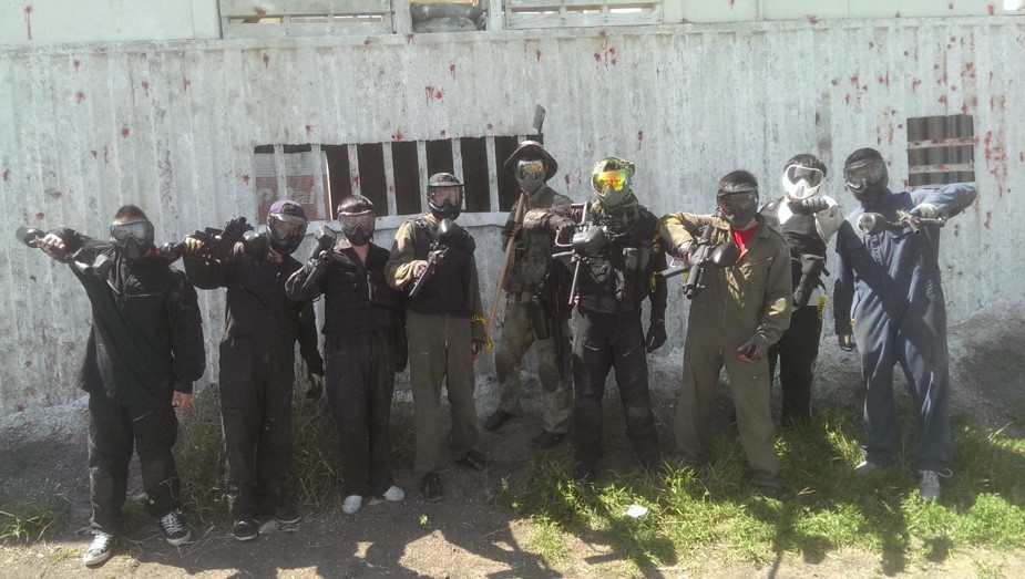 SPG Paintball Team Photo - Most Affordable Outdoor Edmonton Paintball Facility
